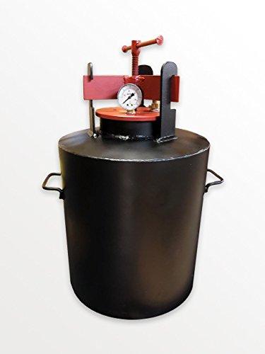 Standart Autoklav Haushalt - entwickelt für die Konservierung von Haushaltsprodukten (14 Gläser 0,5 Liter oder 7 Gläser 1 Liter)