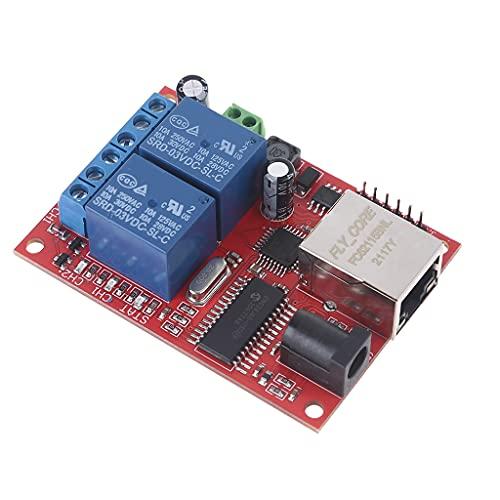 Folewr Servidor Web del módulo del regulador del interruptor TCP/UDP del retardo del tablero de la retransmisión de la manera de Ethernet 2