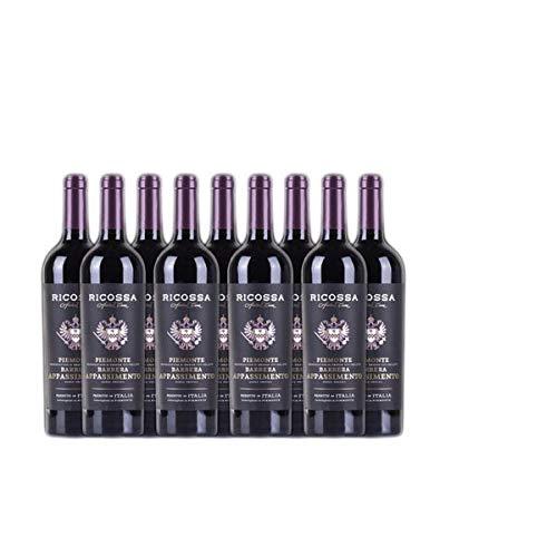 Rotwein Italien Ricossa Barbera DOC Appasimento halbtrocken (9x0,75L)