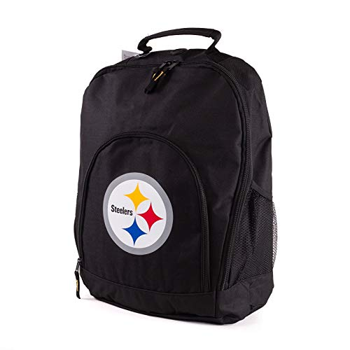 Forever Collectibles NFL Pittsburgh Steelers Back To School Backpack Black Bag Rucksack Tasche