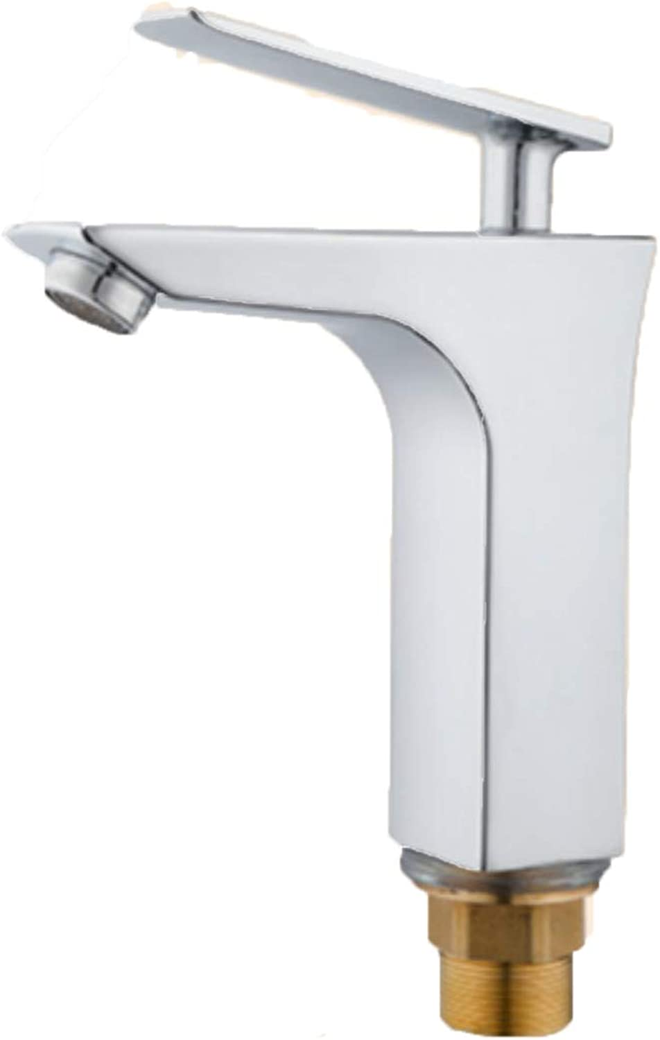 Copper core Single Hole Faucet Cold and hot Basin Faucet