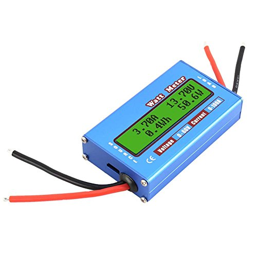 For Sale! Thethan Digital Monitor LCD Watt Meter 60V/100A DC Ammeter RC Battery Power Amp Analyzer