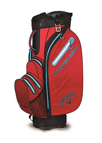 Callaway CG CT Hyper Dry Bolsa para Carro de Golf, Unisex Adulto, Rojo/Negro/Azul,...