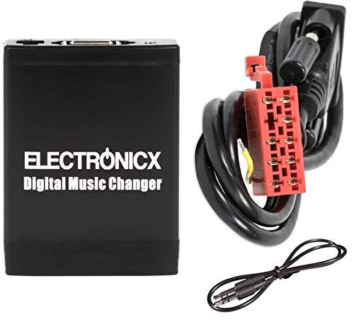 Electronicx Elec-M06-MB Adaptador de radio para coche USB, SD, AUX MP3 Mercedes...
