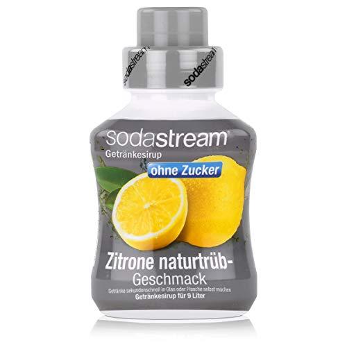 SodaStream Zitrone naturtrüb o. Zucker