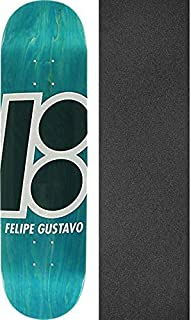 Plan B Skateboards Felipe Gustavo Stained Turquoise Skateboard Deck - 8