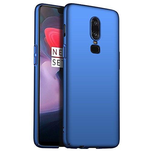 Maxx Xiaomi Pocophone F1 Hülle, Hardcase Handyhülle, Bumper Schutzhülle, Premium Handy Schutz passend für Xiaomi Pocophone F1, Blau (Doppelpack, 2 Stück)