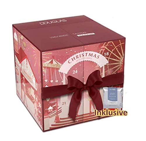 Douglas Adventskalender 2021 Make Up Würfel -Exklusiv Edition- Frauen + Mädchen Kosmetik Advent Kalender, Wert 140€, MakeUp Frau, Adventkalender Damen