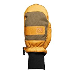RUGGED PIGSKIN LEATHER AND CORDURA BACKING FOR ULTIMATE DURABILITY - Flylow was born in the mountains so they know their mittens need to be tough to satisfy their customers who also heed the mountain call. WARM MITTENS, NUFF SAID - Warm hands don't h...