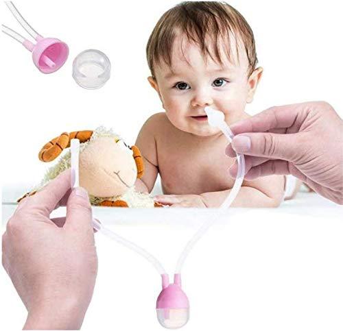 Aspirador Nasal para Mocos del Bebé - Rosa