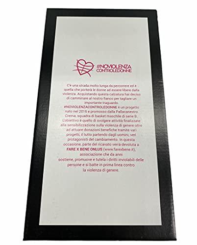 Arianna #NOVIOLENZACONTROLEDONNE Zueco de mujer cerrado en punta empeine de piel estampada borde acolchado suela madera Made in Italy artículo 733, turquesa, 38 EU