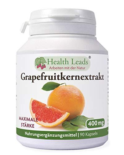 Grapefruitkernen Extrakt (maximale Stärke) 400mg x 90 Kaps