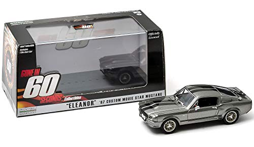 1967 Ford Shelby Mustang GT500 'Eleanor' 'Gone in Sixty Seconds' Movie (2000) 1/43 by Greenlight 86411