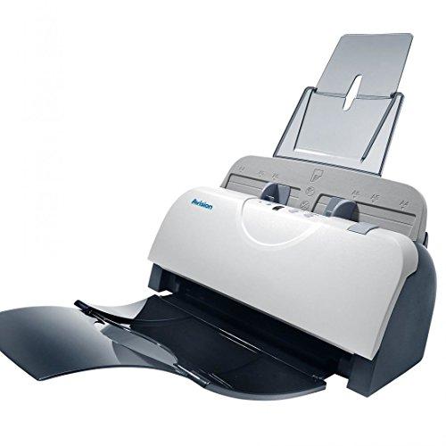 AVISION AD125, DIN A4 Duplex Dokumentenscanner mit 25 Seiten pro Minute (Duplex: 50 Images pro Minute) und 50 Blatt Dokumenteneinzug.
