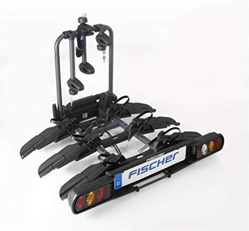 FISCHER Kupplungsfahrradträger ProlineEvo 3 I Fahrradträger Anhängerkupplung I Fahrradträger Auto I Fahrradträger E-Bike