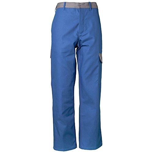 Planam werkbroek Major Protect, maat 98, korenblauw/grijs/meerkleurig, 5220098 164 korenblauw/grijs