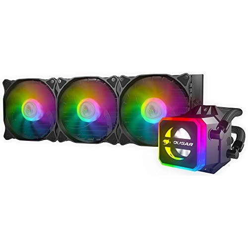 Cougar Helor CPU Liquid Cooling with Addressable RGB, Core Box v2 and a Remote Controller (360)