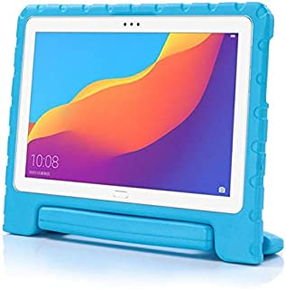 Kids Case For Huawei Mediapad T5 10 10.1 Inch Tablet Cover Hand-held EVA Shockproof Funda Cover (Color : Blue)