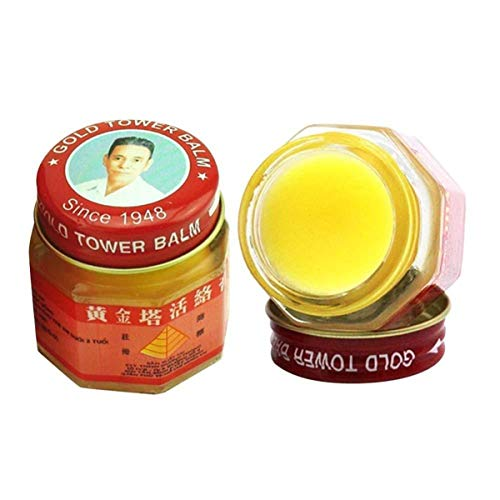 HELLOYOUNG 1 PC Vietnam Gold Tower Balm Aktivcreme 20g Muskelmedizin Relief Pflaster Relief Gelenke Rheuma Erste-Hilfe-Salben