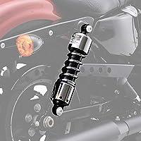 デイトナ コンフォートリアショック 11.6インチ(約296mm)ローダウンモデル用 クロームメッキ XL1200/883('04〜'19)系 98710
