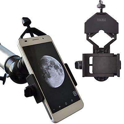 Gosky Universal Cell Phone Adapter Mount - Compatible Binocular Monocular Spotting Scope Telescope Microscope