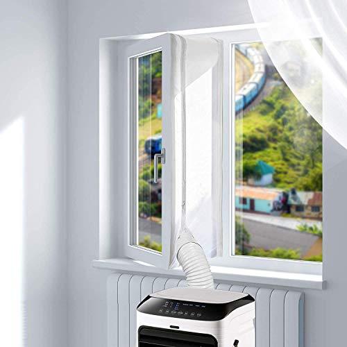 400CM Tissu De Calfeutrage De Fenêtres pour Climatiseur Portatif Et Sèche-Linge - Fonctionne avec...
