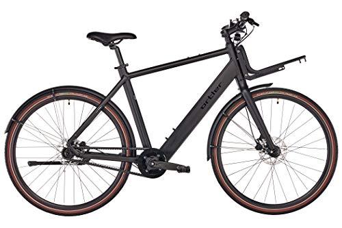 ORTLER EC700 - Bicicletas eléctricas urbanas - Hombres Negro Tamaño del Cuadro 52cm 2018