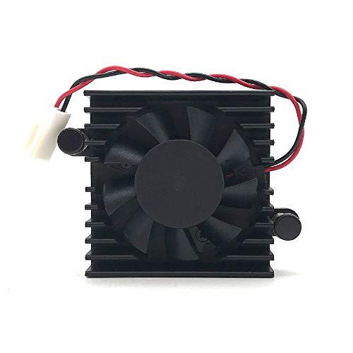 iHaospace Ventilador de disipador de calor para DaHua DVR, ventilador de cámara HDCVI, DAHUA DVR 5 V, ventilador DAHUA de 5 V, ventilador de refrigeración de 2 pines