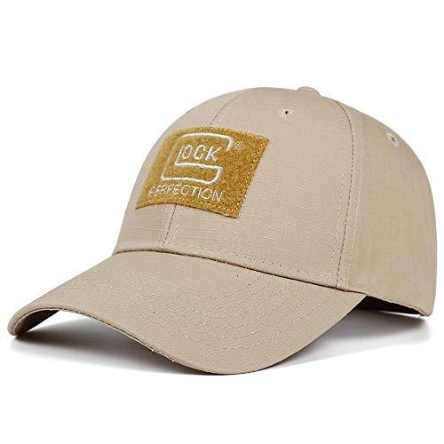 QOHNK Explosion Glock Schießen Jagd Baseball Cap Mode Baumwolle Outdoor Caps Freizeit Sonnenschutz Hüte Einstellbare Golf Hut
