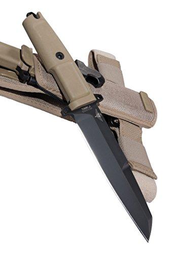 Extrema Ratio 04.1000.0086/BLK Feststehendes Messer Task J Jagdmesser Outdoormesser Survival ab 18 Jahren