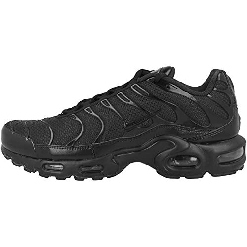 Nike Mens Air Max Plus 604133 050 Triple Black - Size 8.5