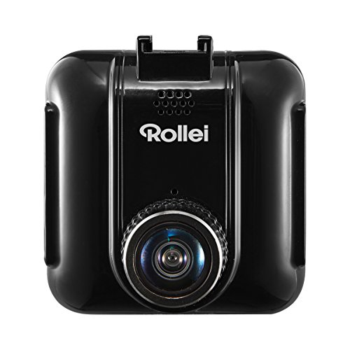 Rollei CarDVR-72 - Hochauflösende GPS Auto-Kamera (Dashcam, DVR Kamera) mit Full HD Videoaufzeichnung (1080p/30fps), inkl. SOS Funktion und GPS Funktion - Schwarz