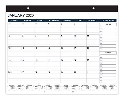Tangarao Wall & Desktop Calendar 2020 & 2021- Two Years Wall Calender January 2020- December 2021 Monthly 17.75 x 13.75 Inches Large Calendars 2020