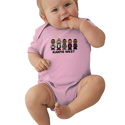 Kanye West Baby Jersey Boy Girl Bodysuit Funny Baby Short Sleeve T Shirt