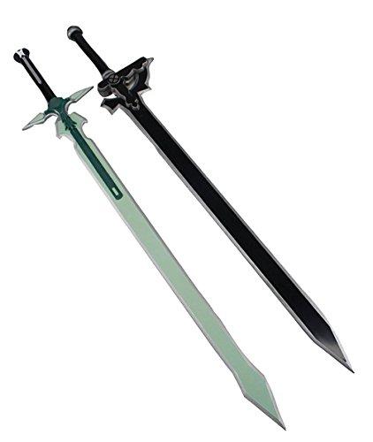 Kiumi コスプレ 道具 武器 樹脂製 エリュシデータ風 ダークリパルサー風 79cm 2点セット 西洋剣 P01S P02S