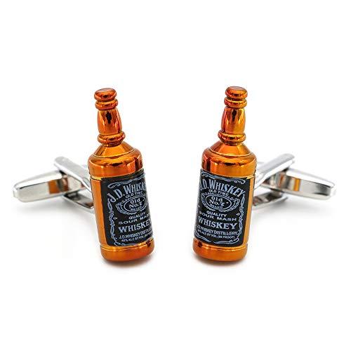 FULAISI Gemelos Botella Whisky Acero Inoxidable
