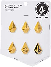 Volcom Women's Stone Studs Pack of 6 Snow Stomp Pads, Yellow,
