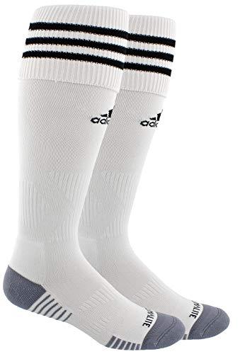 adidas Copa Zone Cushion III Fußballsocken (1 Paar), Unisex-Erwachsene, Weiß / Schwarz, Small