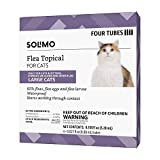 Amazon Brand - Solimo Flea Topical for Large Cats (over 9 pounds), 4 Count