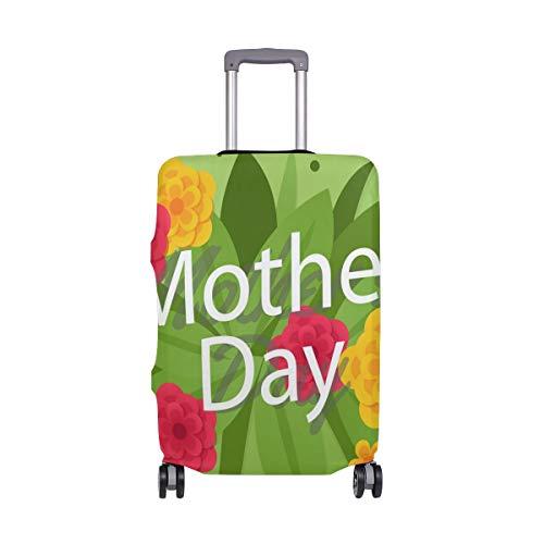 Funda para Maleta con diseño de Flores para el día de la Madre