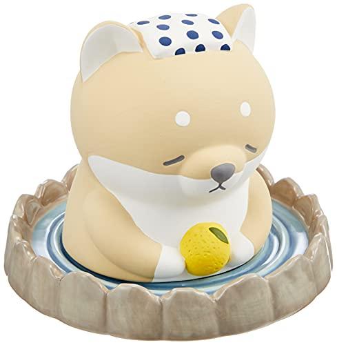 りぶはあと 温泉加湿器 プレミアムねむねむアニマルズ 柴犬のコタロウ ポット本体:W7.5xD7.5xH10cm 受け皿:W7.5xD7.5xH2cm 78002-44