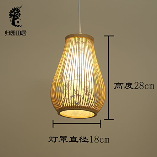 Motivtecch Een kop kleine kandelaar lamp slaapkamer bedlampje nieuwe Chinese zenen Japanse restaurant bar eenvoudige gang balkon lamp