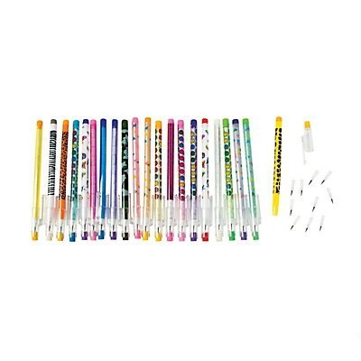 Fun Express Stacking Point Pencil Assortment (100 Pieces)