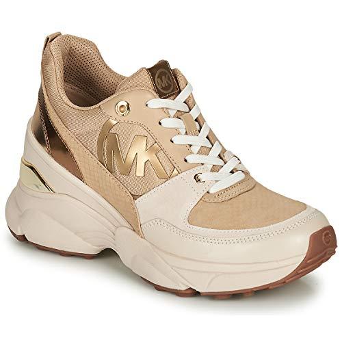 MICHAEL MICHAEL KORS MICKEY Sneakers dames Beige/Goud Lage sneakers