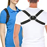 Vitog Smart Back Straightener Posture Corrector with Intelligent Sensor Vibration Reminder Adjustable Back Posture Brace Smart Posture Reminder and Humpback Correction Trainer