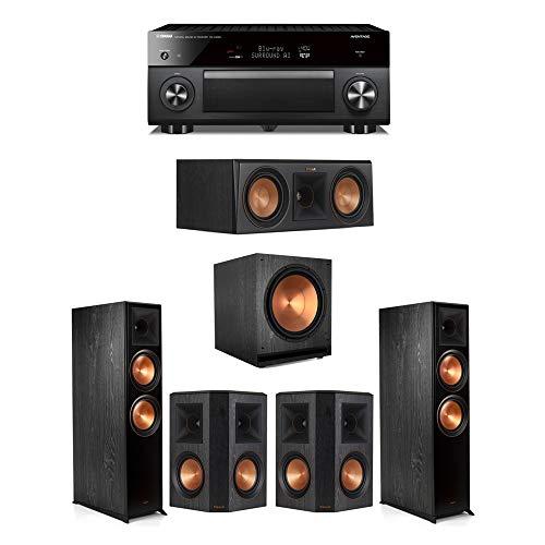 Best Deals! Klipsch5.1.2 Ebony System - 2 RP-8060FA,1 RP-500C,2 RP-600M,1 SPL-150,1 RX-A3080 Recei...