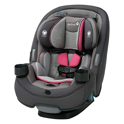 Safety 1st Autoasiento Grow and Go 3 en 1 Everest Pink, color Rosa, paquete de 1