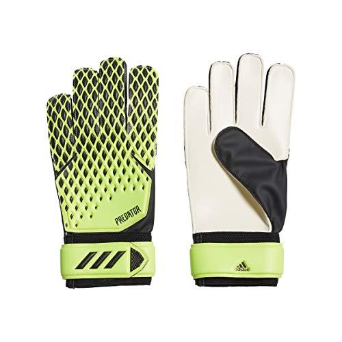 adidas Soccer Gloves PRED Gl TRN, Signal Green/Black, 9, FS0400