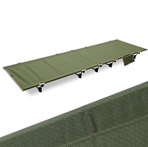 Tumecos アウトドア ハイキング ベッド ビーチベッド シンプルなベッドバッグインベッド 折りたたみベッド シンプルなベッド 超軽量 アウトドア キャンプ コット レジャーベッド 組立簡単 持ち運びやすい キャンプ/仮眠/残業/防災用 エアーピロ*収