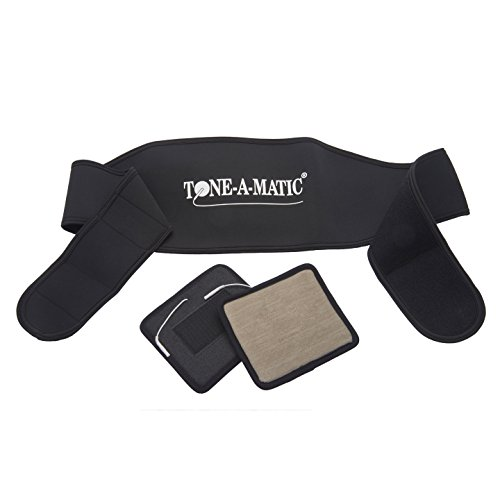 ToneAMatic Electric Muscle Stimulator TENS Multi Functional Therapy Waist and Back Belt (Sold as an Accessory Only)